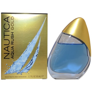 Nautica 'Aqua Rush Gold' Men's 3.4-ounce Eau de Toilette Spray