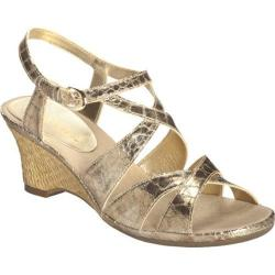 Women's Aerosoles Bakers Dozen Gold Snake