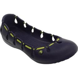 Women's Crocs Springi Flat Nautical Navy/Citrus