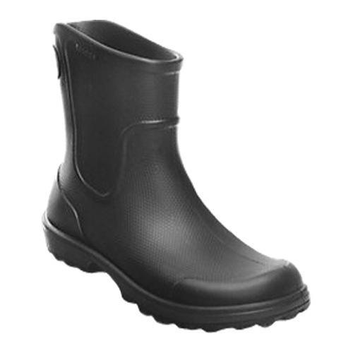 Men's Crocs Work Wellie Rain Boot Black/Black