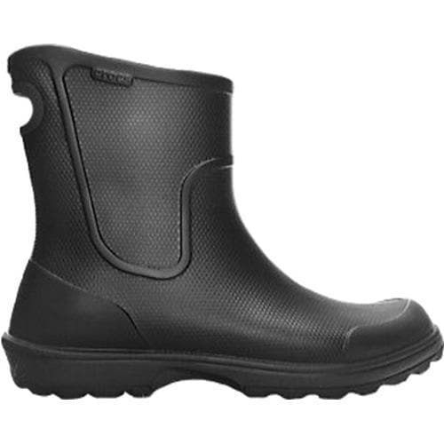 Men's Crocs Work Wellie Rain Boot Black/Black