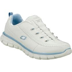 Women's Skechers Synergy Elite Class White/Light Blue