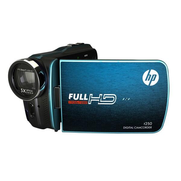 HP T250 Blue Digital Camcorder