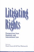 Litigating Rights: Perspectives from Domestic and International Law (Hardcover)