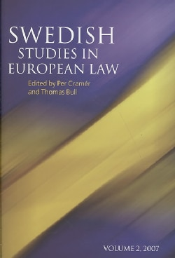 Swedish Studies in European Law, 2007 (Hardcover)