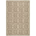 Safavieh Handmade Moroccan Cambridge Tan Wool Rug (10' x 14')