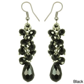 Kate Marie 'Simply Elegant' Acrylic Dangle Earrings