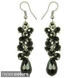Kate Marie 'Simply Elegant' Acrylic Dangle Earrings