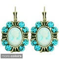 Kate Marie 3D Royal Portrait Fashion Earrings