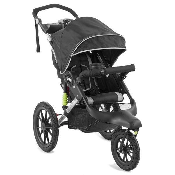 Jeep MP3-Compatible Adventure Jogging Stroller