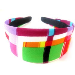 Crawford Corner Shop Retro Multicolor Abstract Headband