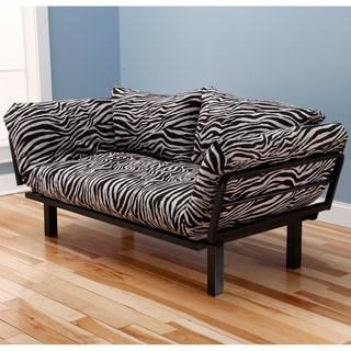 Somette Eli Spacely Multi-Flex Convertible Daybed Lounger with Mattress and Pillow Set