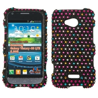 INSTEN Dots Diamante Phone Case Cover for Samsung L300 Galaxy Victory 4G LTE