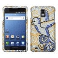 BasAcc Clever Bird Diamante Protector Case for Samsung� I997 Infuse 4G