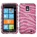 BasAcc Zebra Pink Diamante Case for Samsung� I937 Focus S
