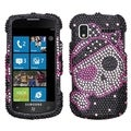 BasAcc Cute Pirate Diamante Protector Case for Samsung I917 Focus