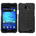 BasAcc Black Diamante Protector Case for Samsung� I777 Galaxy S II