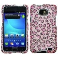 BasAcc Pink/ Black Leopard Diamante Case for Samsung� I777 Galaxy S II
