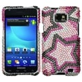 BasAcc Twin Stars Diamante Case for Samsung� I777 Galaxy S II