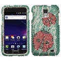 BasAcc Ladybugs Diamante Case for Samsung� I727 Galaxy S2 Skyrocket