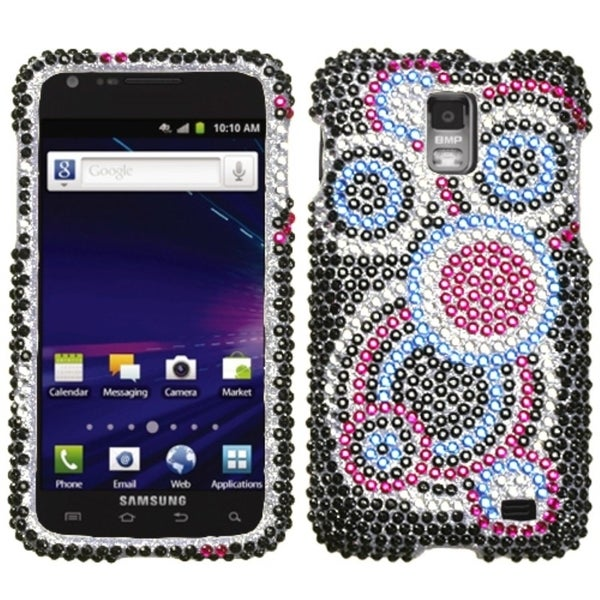 INSTEN Bubble Diamante Phone Case Cover for Samsung I727 Galaxy S2 Skyrocket