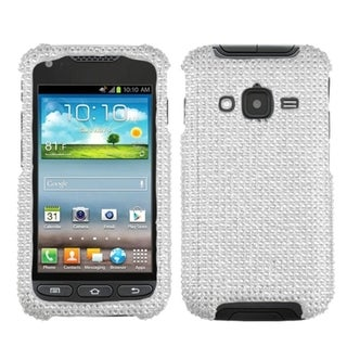 BasAcc Silver Diamante Case for Samsung I547 Galaxy Rugby Pro