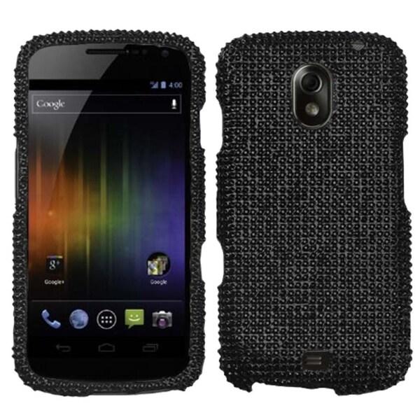 BasAcc Black Diamante Protector Case for Samsung I515 Galaxy Nexus