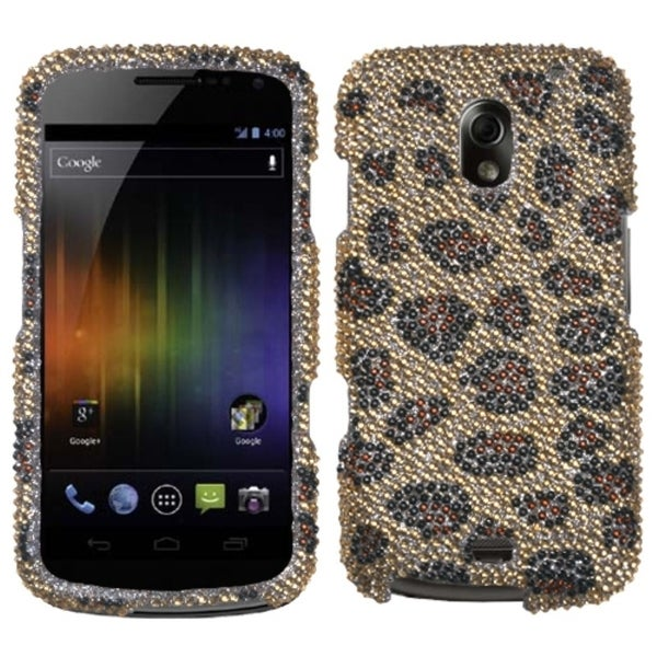 BasAcc Leopard/ Camel Diamante Case for Samsung I515 Galaxy Nexus