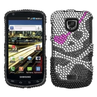 BasAcc Skull Diamante Case for Samsung I510 Droid Charge