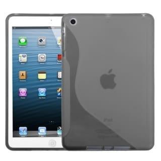 BasAcc Smoke S-shape Candy Skin Case for Apple iPad Mini