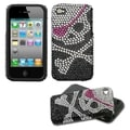 BasAcc Skull Diamante Fusion Case for Apple iPhone 4S/ 4