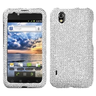 BasAcc Silver Diamante Case for LG LS855 Marquee