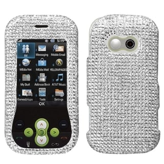 BasAcc Silver Diamante Case for LG GT365 Neon