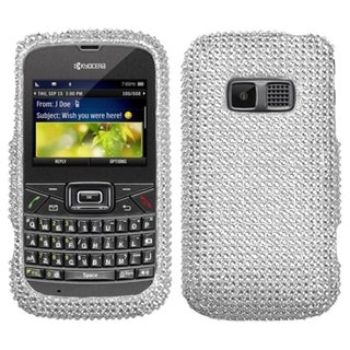 BasAcc Silver Diamante Case for Kyocera S3015 Brio