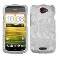 BasAcc Silver Diamante Case for HTC One S