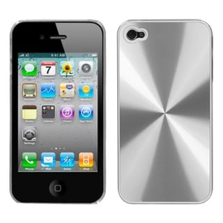 BasAcc Silver Cosmo Back Case for Apple iPhone 4S/ 4