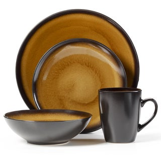 Pfaltzgraff 16-piece Dinnerware Orion Gold
