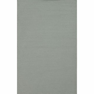 nuLOOM Handmade Indoor/ Outdoor Braided Grey Rug (5' x 8')