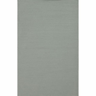 nuLOOM Handmade Indoor/ Outdoor Braided Grey Rug (8' x 10')