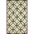 nuLOOM Handmade Indoor / Outdoor Lattice Trellis Ivory Rug (8'3 x 11')