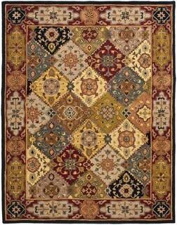 Safavieh Hand-made Heritage Multi/ Red Wool Rug (11' x 15')