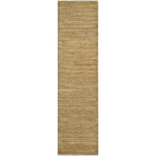 Safavieh Hand-knotted Organic Natural Wool Rug (2'6 x 10')
