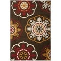 Safavieh Newbury Brown/ Red Rug (3' x 5')