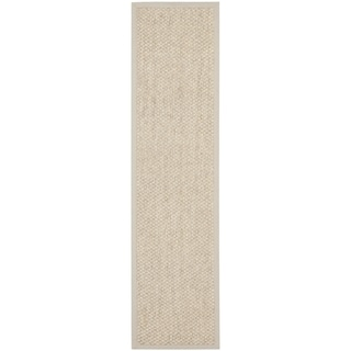 Safavieh Natural Fiber Marble Sisal Sea Grass Rug (2'6 x 10')