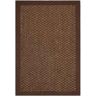 Safavieh Natural Fiber Chocolate Sisal Sea Grass Rug (2' x 3')