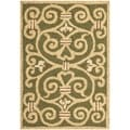 Safavieh Hand-made Chelsea Light Green Wool Rug (2'9 x 4'9)