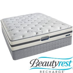 Beautyrest Recharge 'Maddyn' Plush Cal King-size Mattress Set