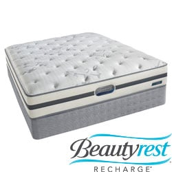 Beautyrest Recharge 'Maddyn' Plush King-size Mattress Set