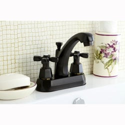 Homestead Oil Rubbed Bronze 4-inch Centerset Bathroom Faucet