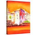 Susi Franco 'Sunset' Gallery-Wrapped Canvas